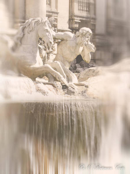 Photograph - Trevi Fountain by Natalie Rotman Cote