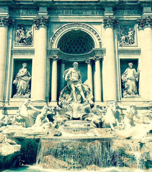 Trevi Fountain Digital Art - Trevi by Karl Allen-Maher