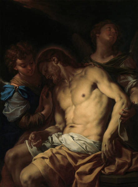 Wall Art - Painting - Trevisani Dead Christ, C1710 by Granger