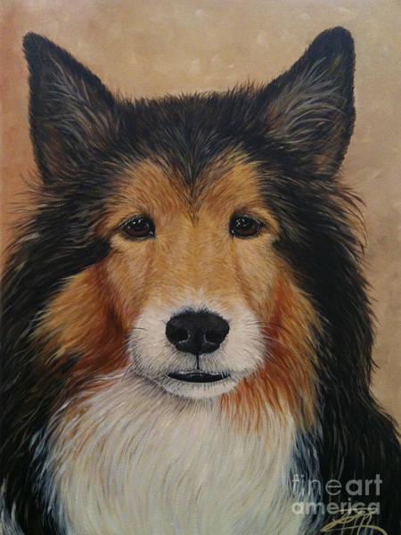 Painting - Trevor by Ana Marusich-Zanor