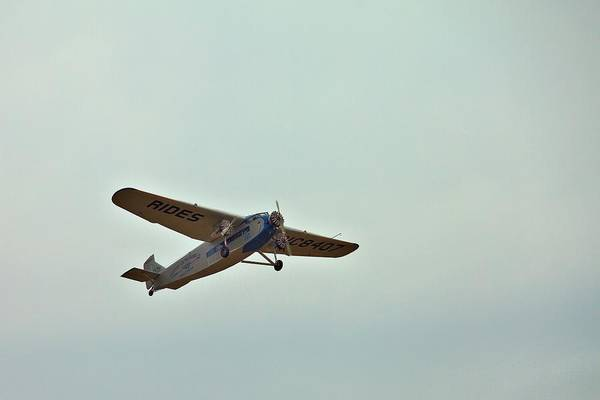 Photograph - Tri-motor Overhead by Gordon Elwell