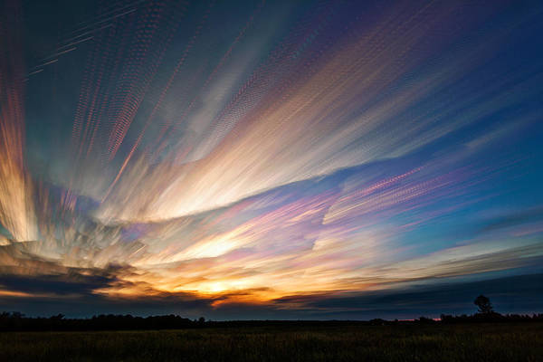 Wall Art - Photograph - Triangular Void by Matt Molloy