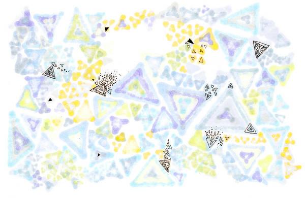 Painting - Triangulation by Regina Valluzzi