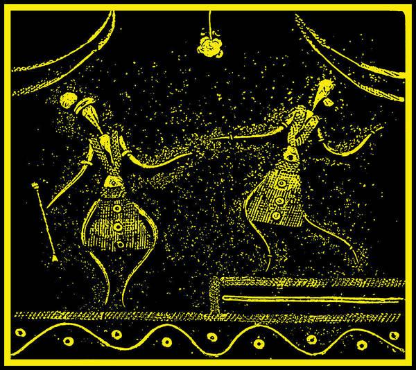 Tribal Dance Digital Art - Tribal by Bliss Of Art