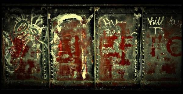 Photograph - Tribal Graffiti by Patricia Strand
