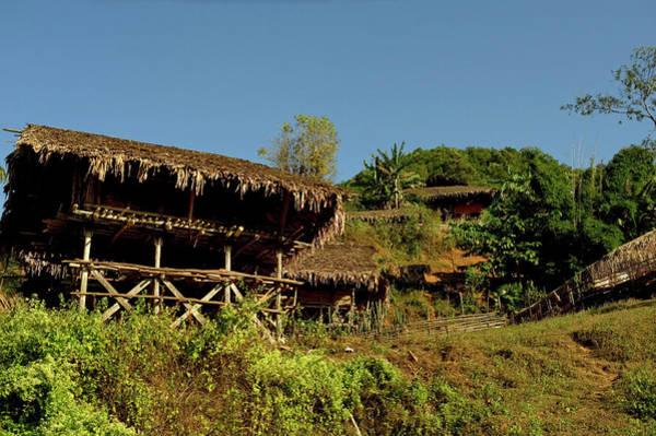 Ethnic Minority Photograph - Tribal Homes In Arunachal Pradesh by Jaina Mishra