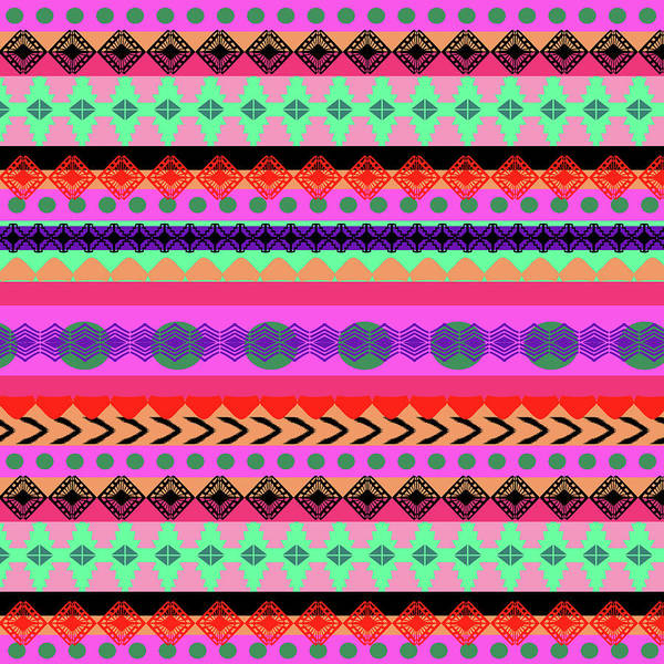 Tribal Digital Art - Tribal Stripe by Amy Sia