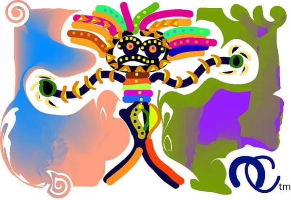 Tribal Dance Digital Art - Tribal Trouble by Andy Cordan