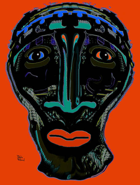 Kenya Mixed Media - Tribal Warrior by Natalie Holland