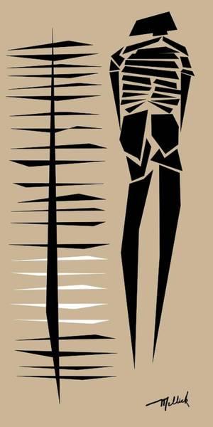 Tribal Dance Digital Art - Tribal Woman With Blades by Carl Mellick