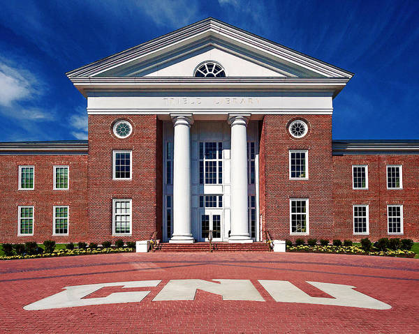 Photograph - Trible Library Christopher Newport University by Jerry Gammon