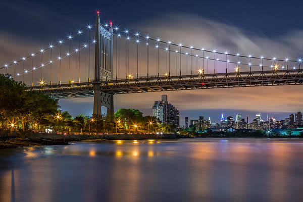 Photograph - Triboro Bridge by Mihai Andritoiu