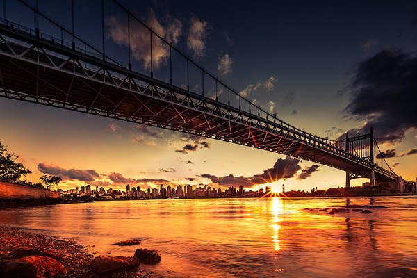 Photograph - Triboro Sunset by Mihai Andritoiu