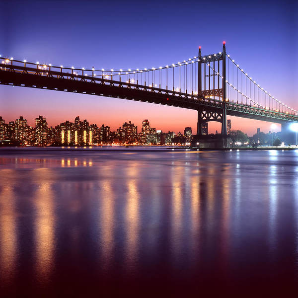 Queen Photograph - Triborough Bridge by Aldo R. Altamirano
