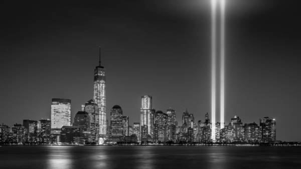 Photograph - Tribute In Light 2013 by Mihai Andritoiu