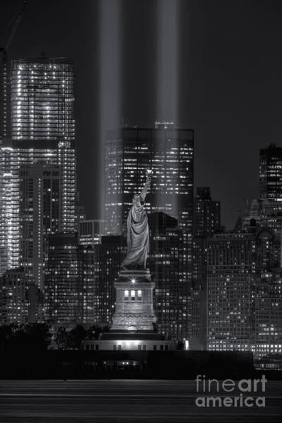 Photograph - Tribute In Light Xvi by Clarence Holmes