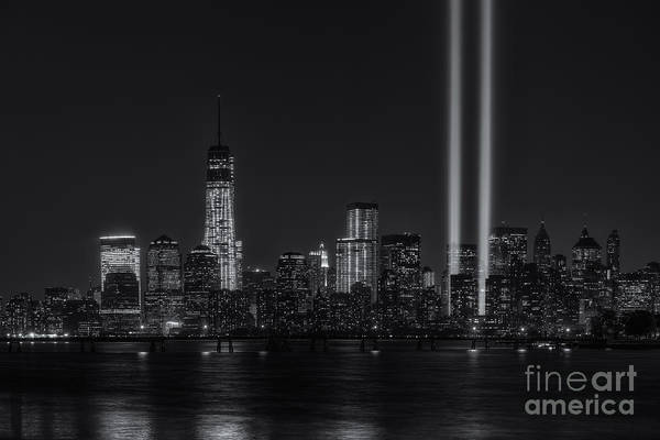 Photograph - Tribute In Light Xviii by Clarence Holmes