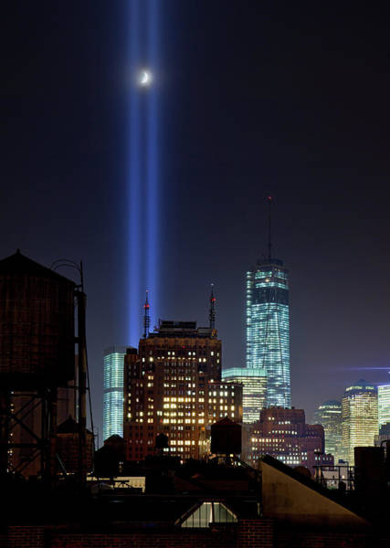 September 11 Attacks Photograph - Tribute In Lights 2013 by Stanley K Patz