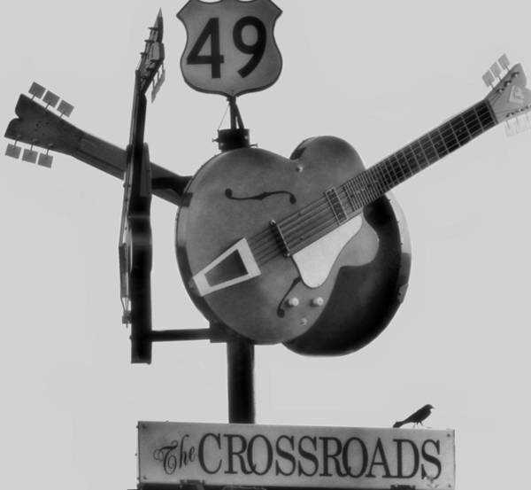 Tribute Photograph - Tribute To The Blues At The Crossroads by Dan Sproul