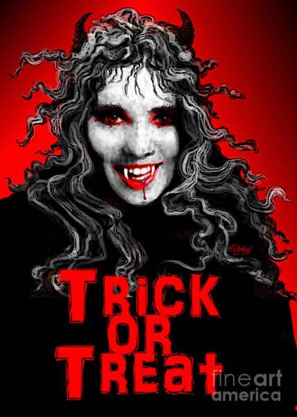 Trick Or Treat Digital Art - Trick Or Treat by Carol Jacobs