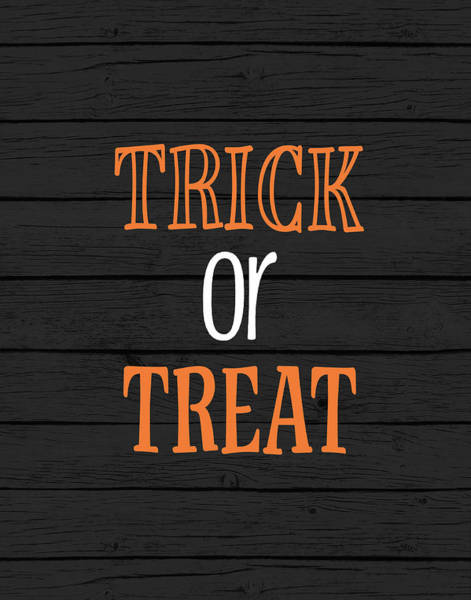 Wall Art - Painting - Trick Or Treat by Tamara Robinson