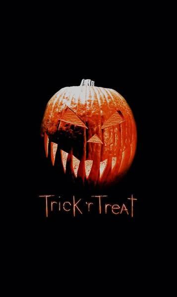 Trick Or Treat Digital Art - Trick R Treat - Pumpkin by Brand A