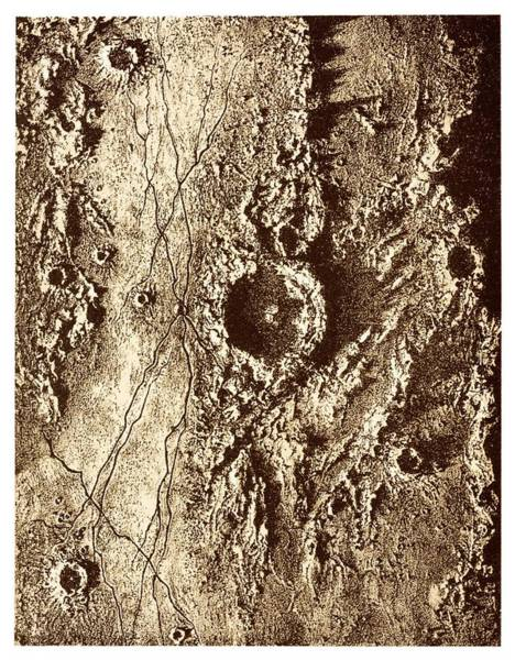 Astronomer Photograph - Triesnecker Crater by David Parker/science Photo Library