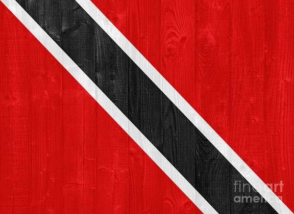 Wall Art - Photograph - Trinidad And Tobago Flag by Luis Alvarenga