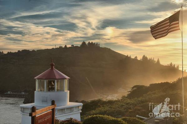 Photograph - Trinidad Beach Lighthouse by Adam Jewell