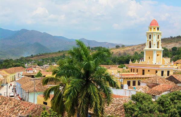 Wall Art - Photograph - Trinidad, Cuba Colonial Cityscape by Bill Bachmann