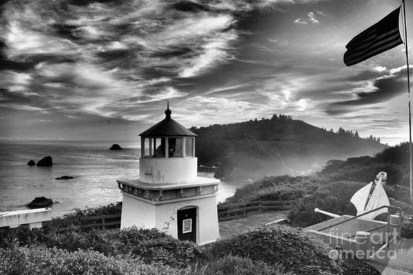 Photograph - Trinidad Light In Black And White by Adam Jewell