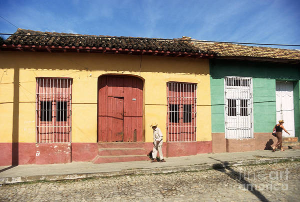 Photograph - Trinidad Streets Cuba by James Brunker