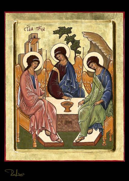 Painting - Trinity  Card by Raffaella Lunelli