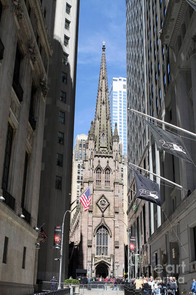Photograph - Trinity Church by Steven Spak