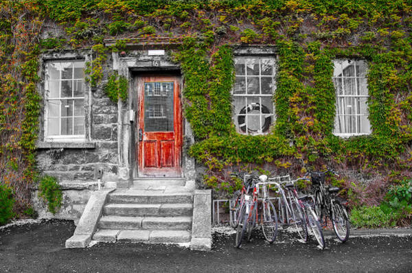 Photograph - Trinity College Dorm - Dublin Ireland by Bill Cannon