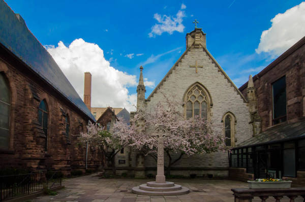 Photograph - Trinity Courtyard by Guy Whiteley
