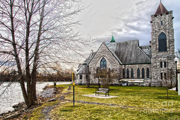 Photograph - Trinity Episcopal Church by William Norton