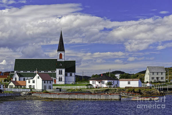 Photograph - Trinity In Newfoundland by Les Palenik