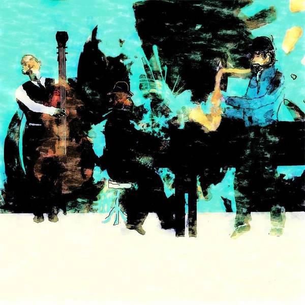 Jazz Trio Digital Art - Trio by Gary Swaim