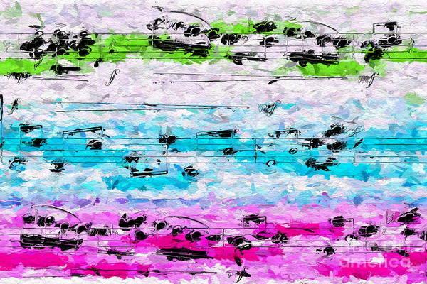 Digital Art - Trio Light by Lon Chaffin
