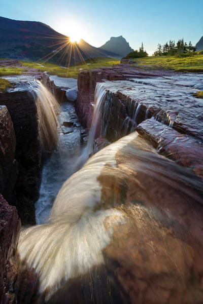 Triple Falls Photograph - Triple Falls by Dustin  LeFevre