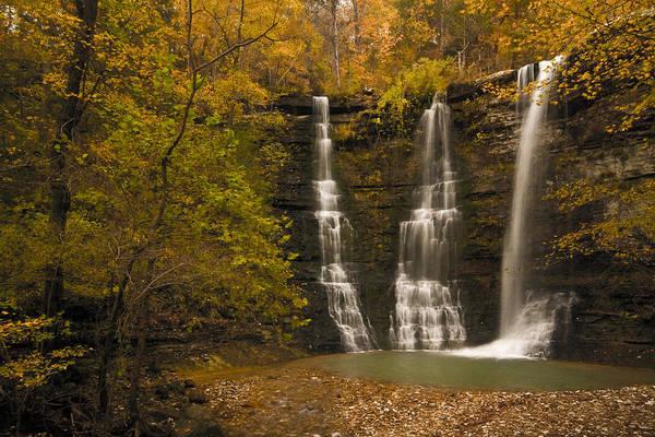 Photograph - Triple Falls by Ryan Heffron