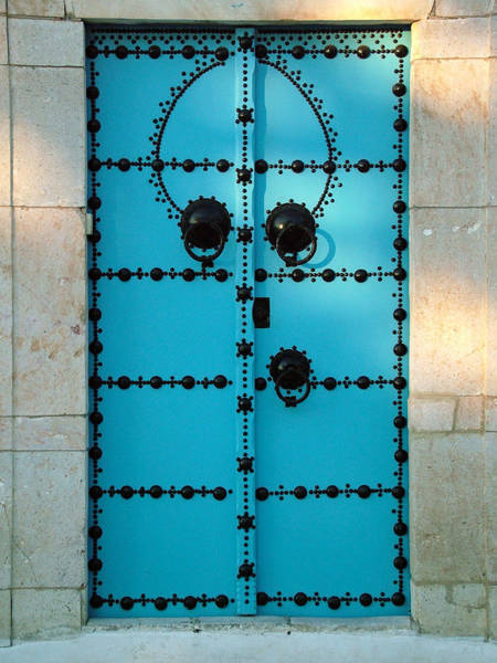 Photograph - Triple Knocker Door by Donna Corless