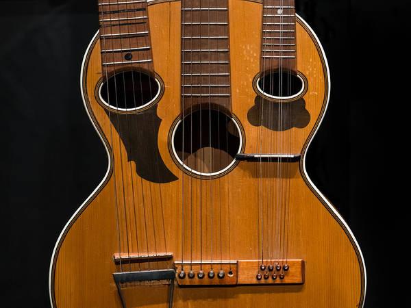 Photograph - Triple-neck Instrument by Glenn DiPaola