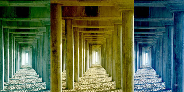 Photograph - Triple Perspective by Ben and Raisa Gertsberg