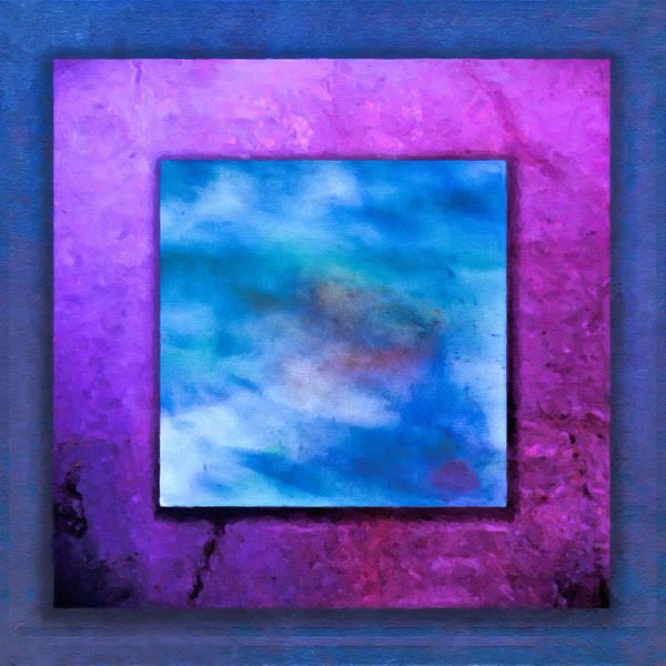 Digital Art - Triple Purple by Rick Wicker