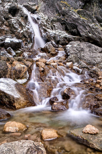 Wall Art - Photograph - Triplets At Gordale Scar Waterfalls by Chris Frost