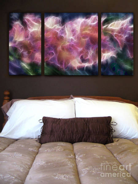 Wall Art - Painting - Triptych Display Sample 01 by Peter Piatt
