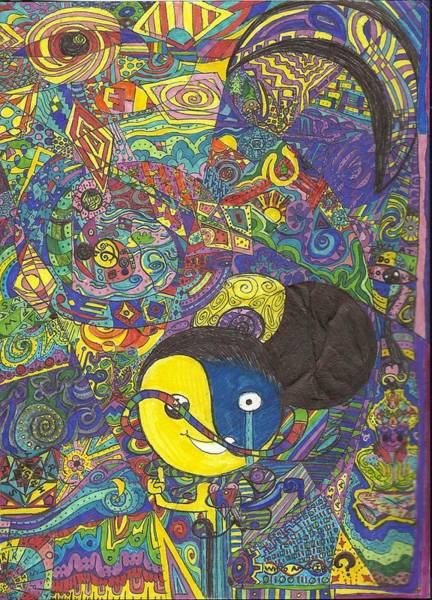 Fractal Drawing - Trismegistus by Ty DAvila
