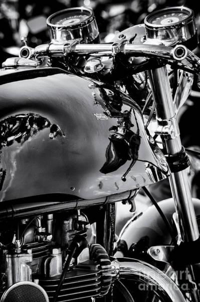 Photograph - Triton Cafe Racer Portrait by Tim Gainey